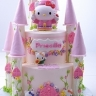 Hello kitty castle-2tier
