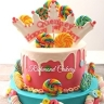 candyland girl - 2 tier