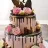 Dripping florist 2 tier