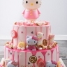 hello kitty drip-2 tier