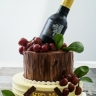 Wine and fruit 2 tier