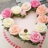 Heart florist wreath