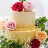 Fresh flower 2 tier