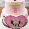 minnie mouse-heart 2tier