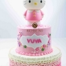 hello kitty ruffle-2tier